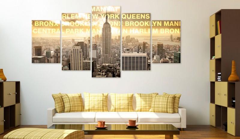 Manhattan vászonkép